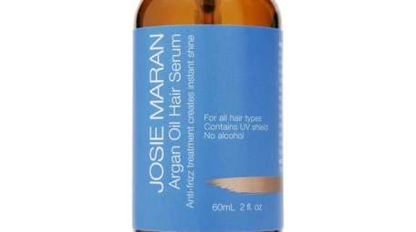 Josie Maran's go-to for the frizzies is argan