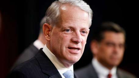 Rep. Steve Israel (D-Huntington) at a news conference