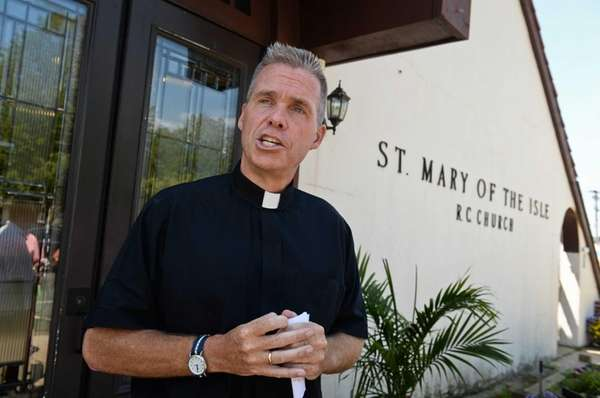 Father Brian Barr of St. Mary of the