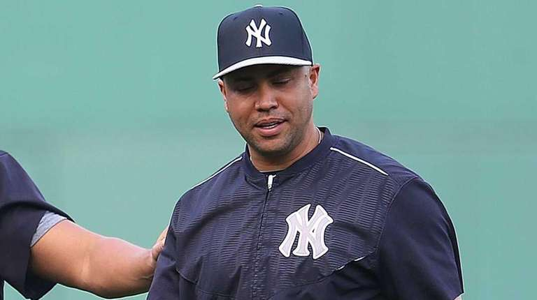 Alex Rodriguez of the Yankees and Carlos Beltran