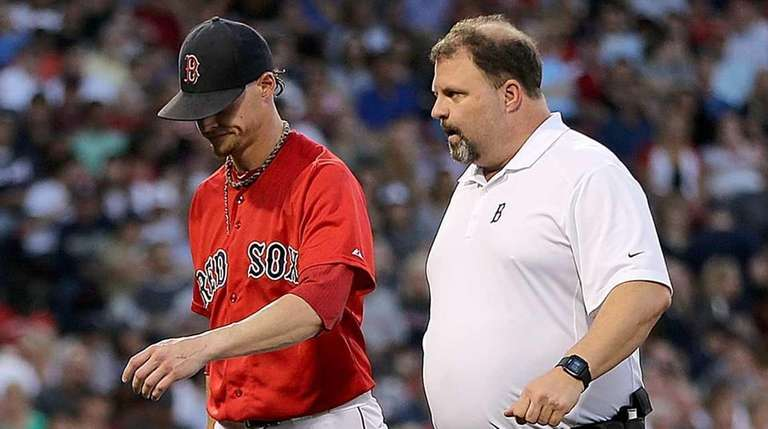 Clay Buchholz #11 of the Boston Red Sox