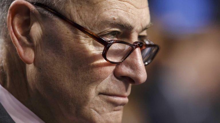 Sen. Chuck Schumer, D-N.Y., is shown in this