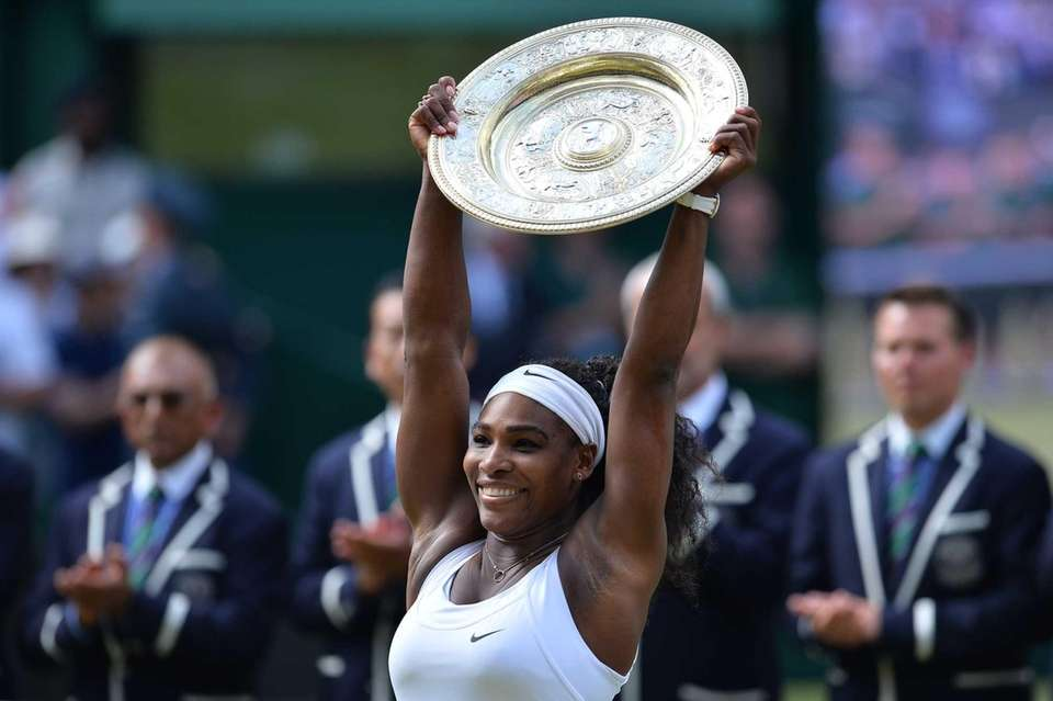 Serena Williams owns the greatest weapon in the