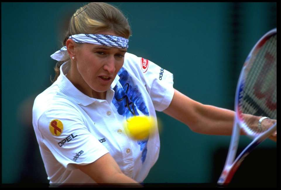 Steffi Graf was a remarkably consistent and dominating