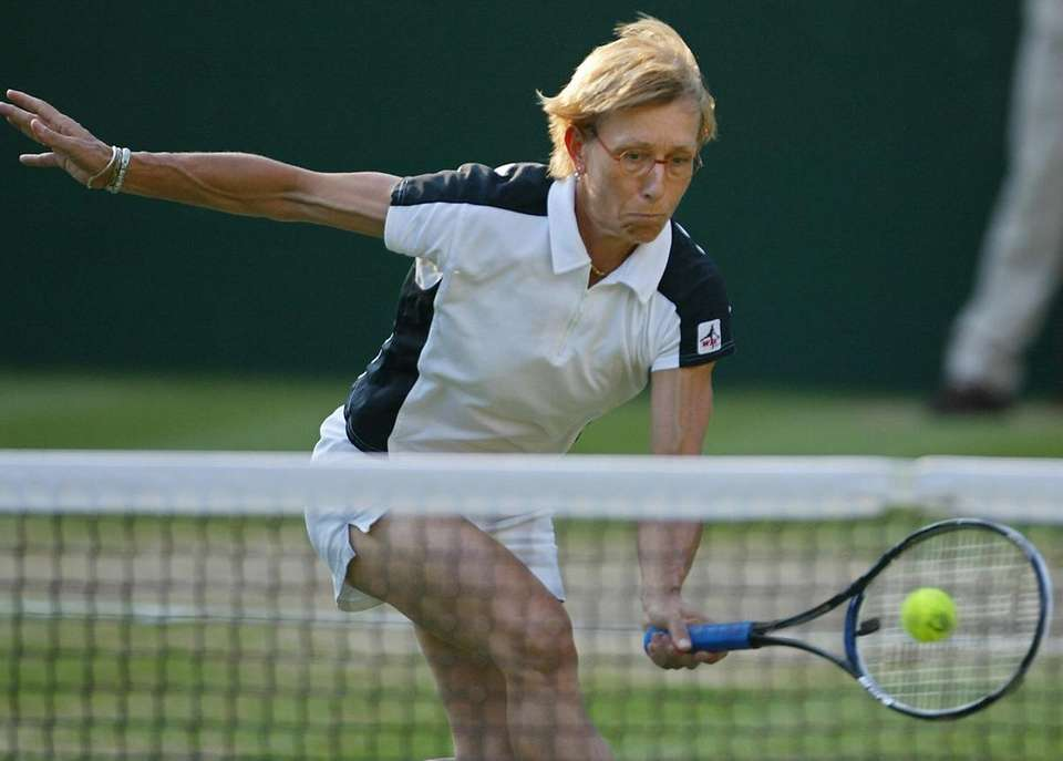 Martina Navratilova brought unparalleled physicality to the game