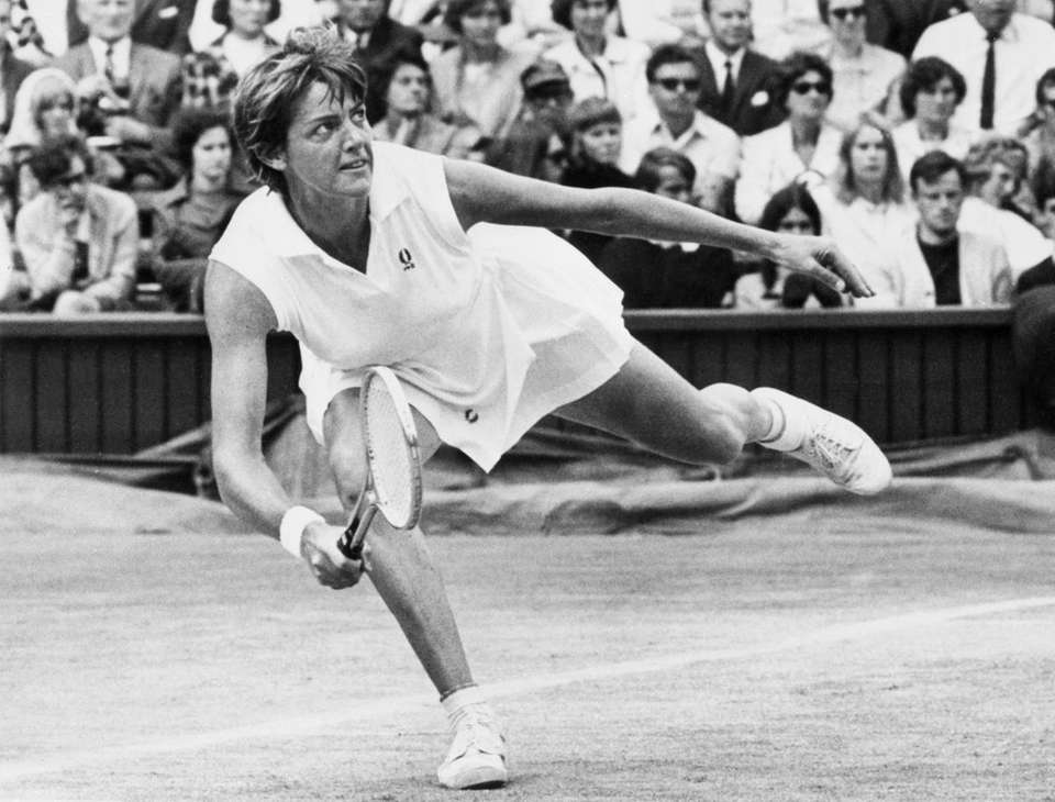 Margaret Court was the dominant player of her