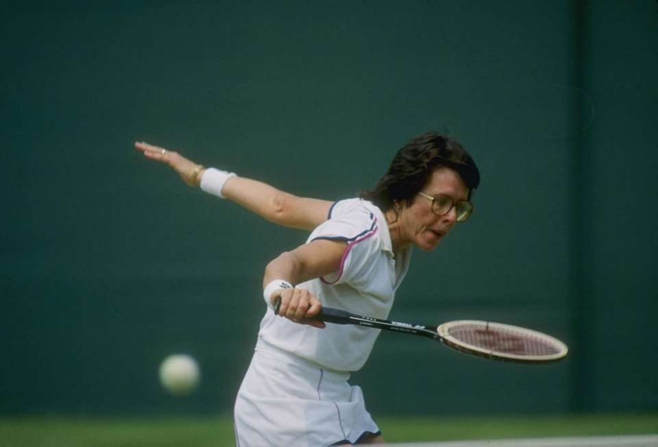 There is no question that Billie Jean King