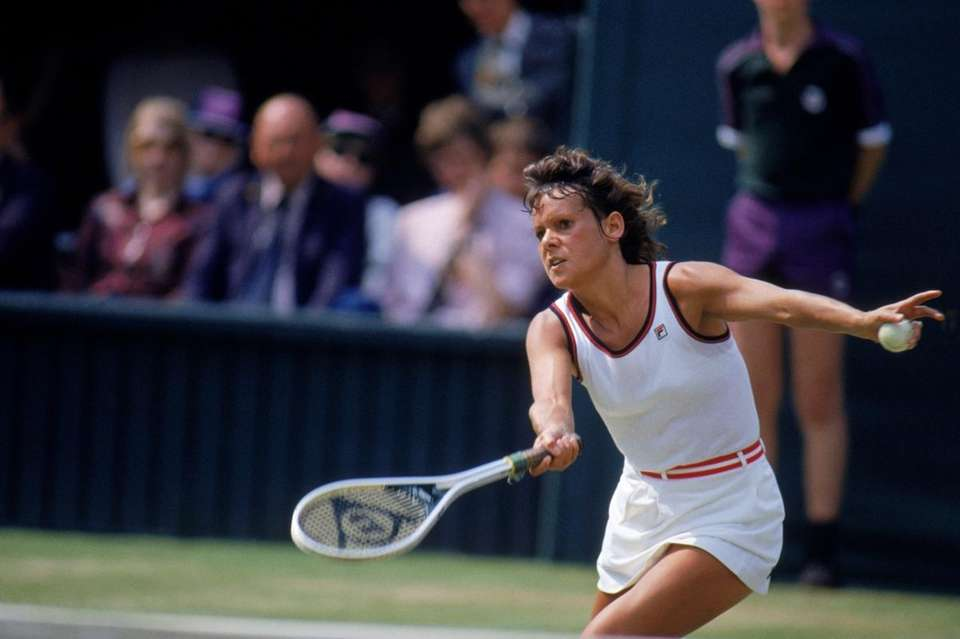 Evonne Goolagong of Australia may have been the
