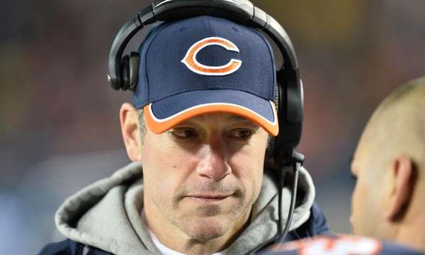 Offensive coordinator Aaron Kromer of the Chicago Bears