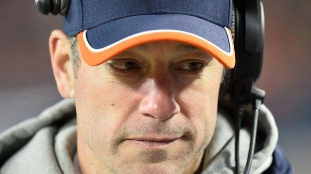 Offensive coordinator Aaron Kromer of the Chicago Bears