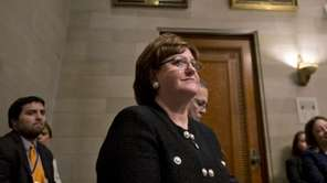 New York State Education Commissioner MaryEllen Elia appears