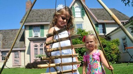 Natalie Jenks, 5, and sister Hannah, 1, both