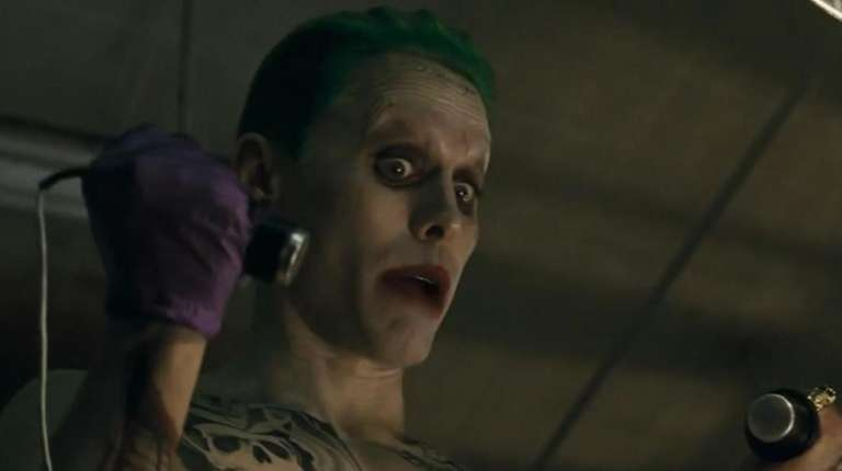 Jared Leto as The Joker in the forthcoming