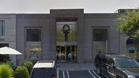 The Tiffany & Co. store in Manhasset is