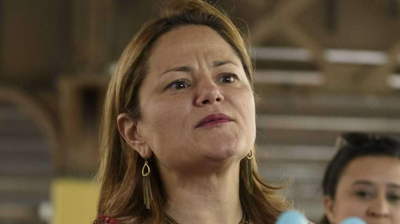 New York City Council Speaker Melissa Mark-Viverito, seen