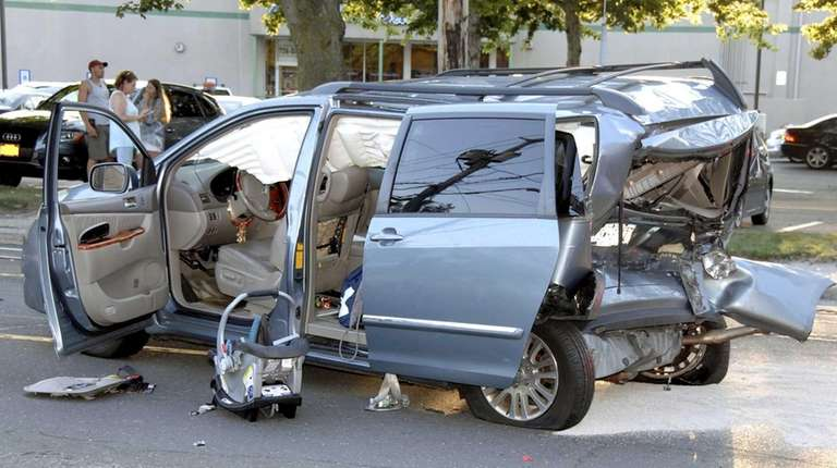Suffolk County police and the Smithtown Fire Department