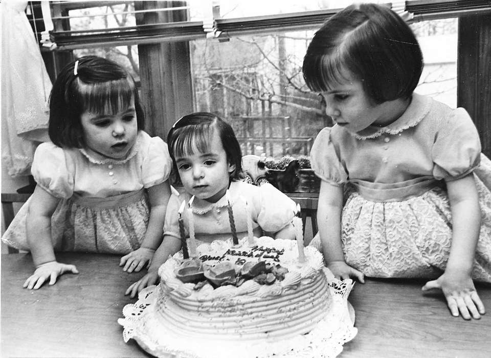 Triplets April, Barbara and Coleen Smith, of Lindenhurst,