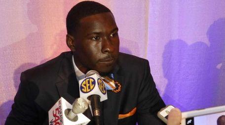 Auburn's Jeremy Johnson during the SEC Media Days