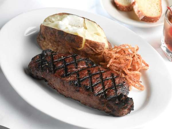 Thursday is steak night at George Martin The