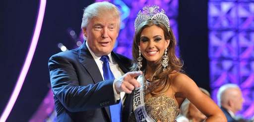 Donald Trump and Miss Connecticut USA Erin Brady