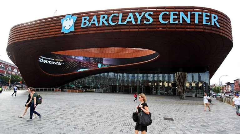 The Barclays Center is seen in Brooklyn in