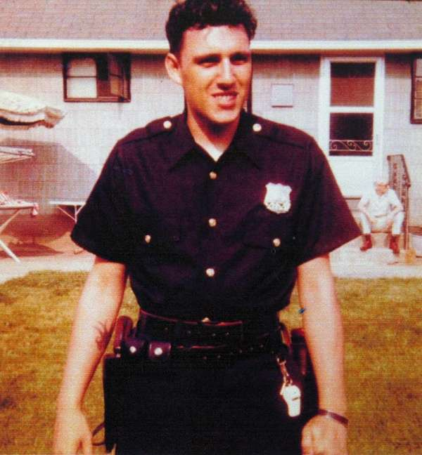 New York Police Officer Phillip Cardillo, seen here