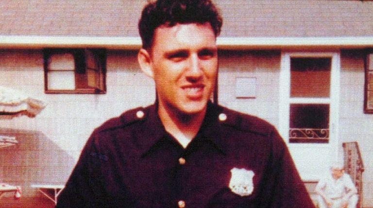 New York Police Officer Phillip Cardillo, seen here