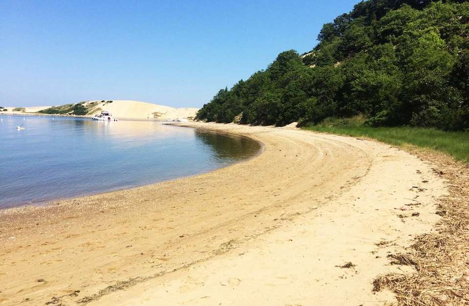 Pirate's Cove is a hidden private beach nestled