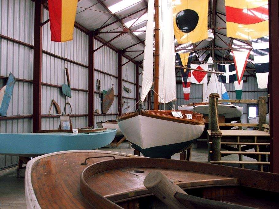 The Long Island Maritime Museum in West Sayville