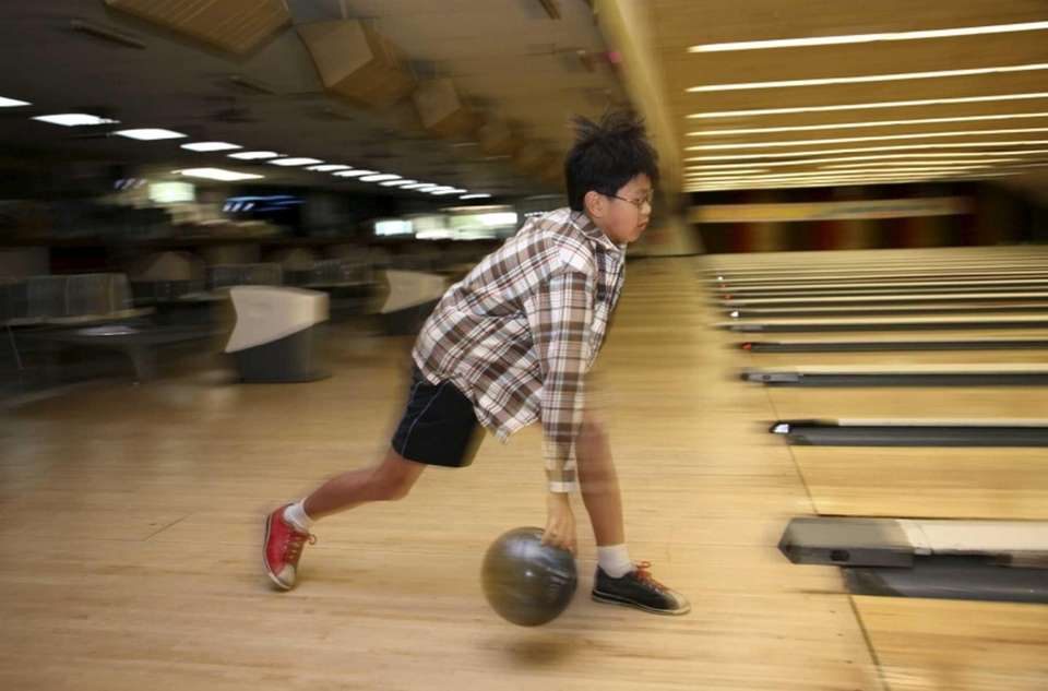 Long Island has dozens of bowling alleys. Some
