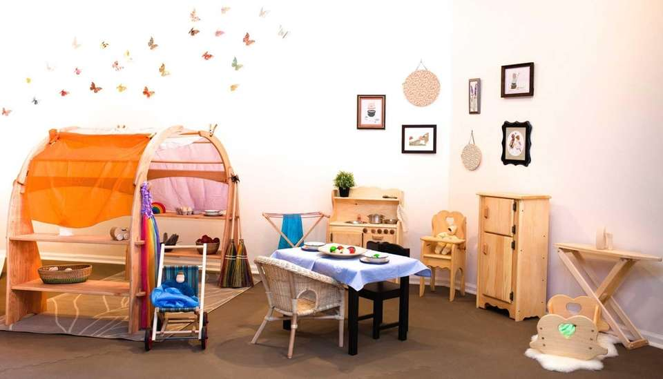 A drop-in play space in Huntington Village called