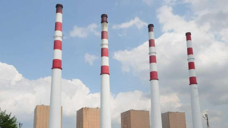 The Northport power plant is shown on Tuesday,