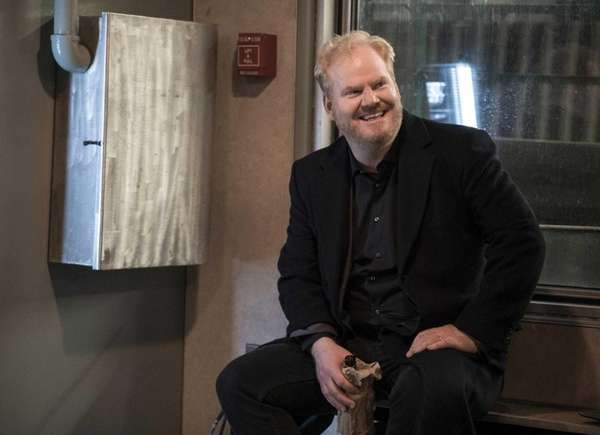 Jim Gaffigan in his new comedy series,