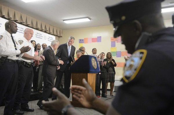 New York City Mayor Bill de Blasio, New