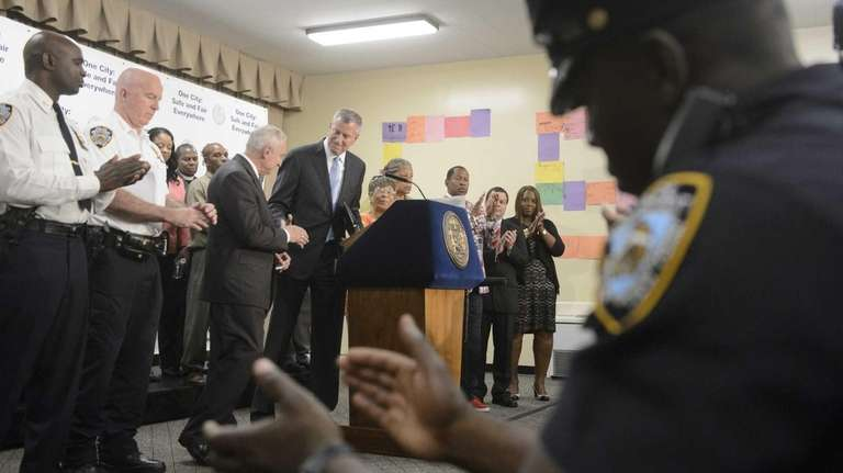 New York City Mayor Bill de Blasio, New
