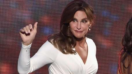 Honoree Caitlyn Jenner accepts the Arthur Ashe Courage