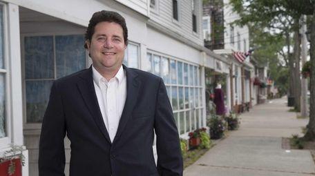Chris Hane, president of the Bellport Chamber of