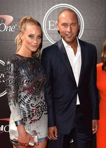Derek Jeter and Hannah Davis attend The 2015