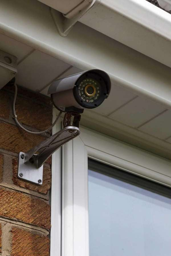 Install faux security cameras to deter potential intruders