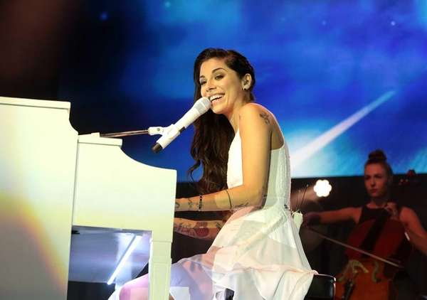 Singer-songwriter Christina Perri (