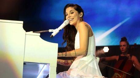 Singer-songwriter Christina Perri (