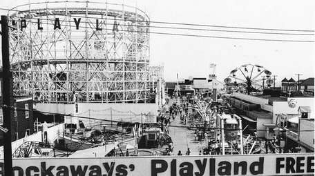 Rockaways' Playland is seen in this undated photo.