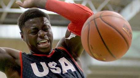 Rawle Alkins in action during adidas Eurocamp Day