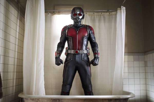 Scott Lang/Ant-Man (Paul Rudd) in Marvel's