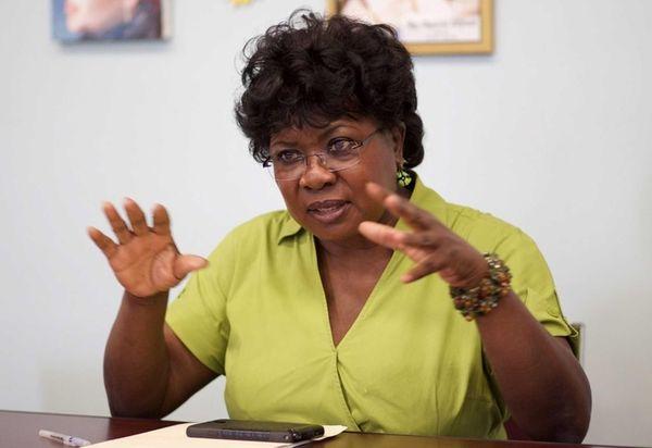 Mary Jones, superintendent of the Wyandanch School District,