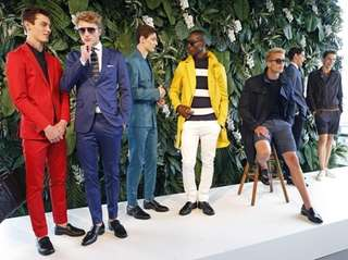 TOMMY HILFIGER: You'll find pants at all lengths