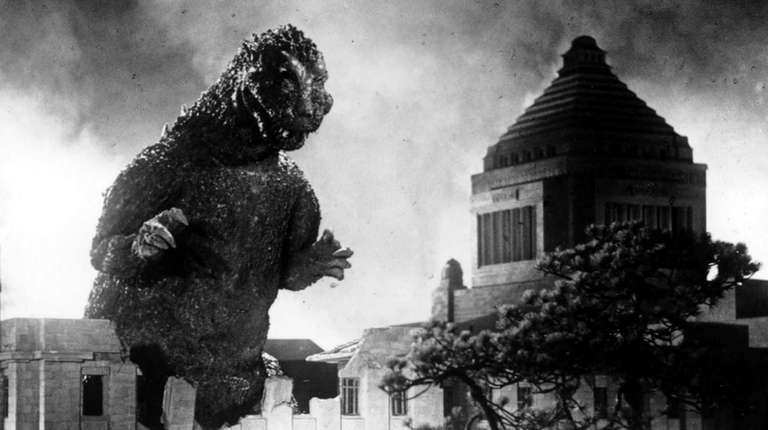 Godzilla brings the pain in the 1954 film