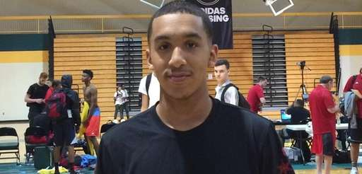 Tremont Waters poses for a photo during the