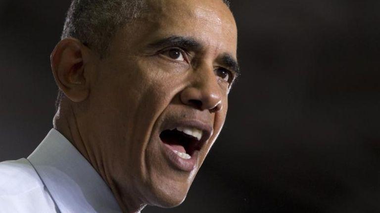 President Barack Obama speaks at the University of