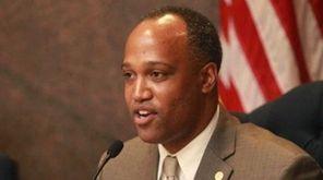 Suffolk County Legislature presiding officer DuWayne Gregory in